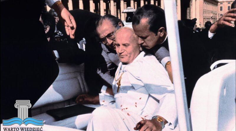 4⃣0⃣lat temu na placu św. Piotra w Rzymie doszło do zamachu na życie Jana Pawła II